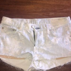 Rag & bone jean shorts!